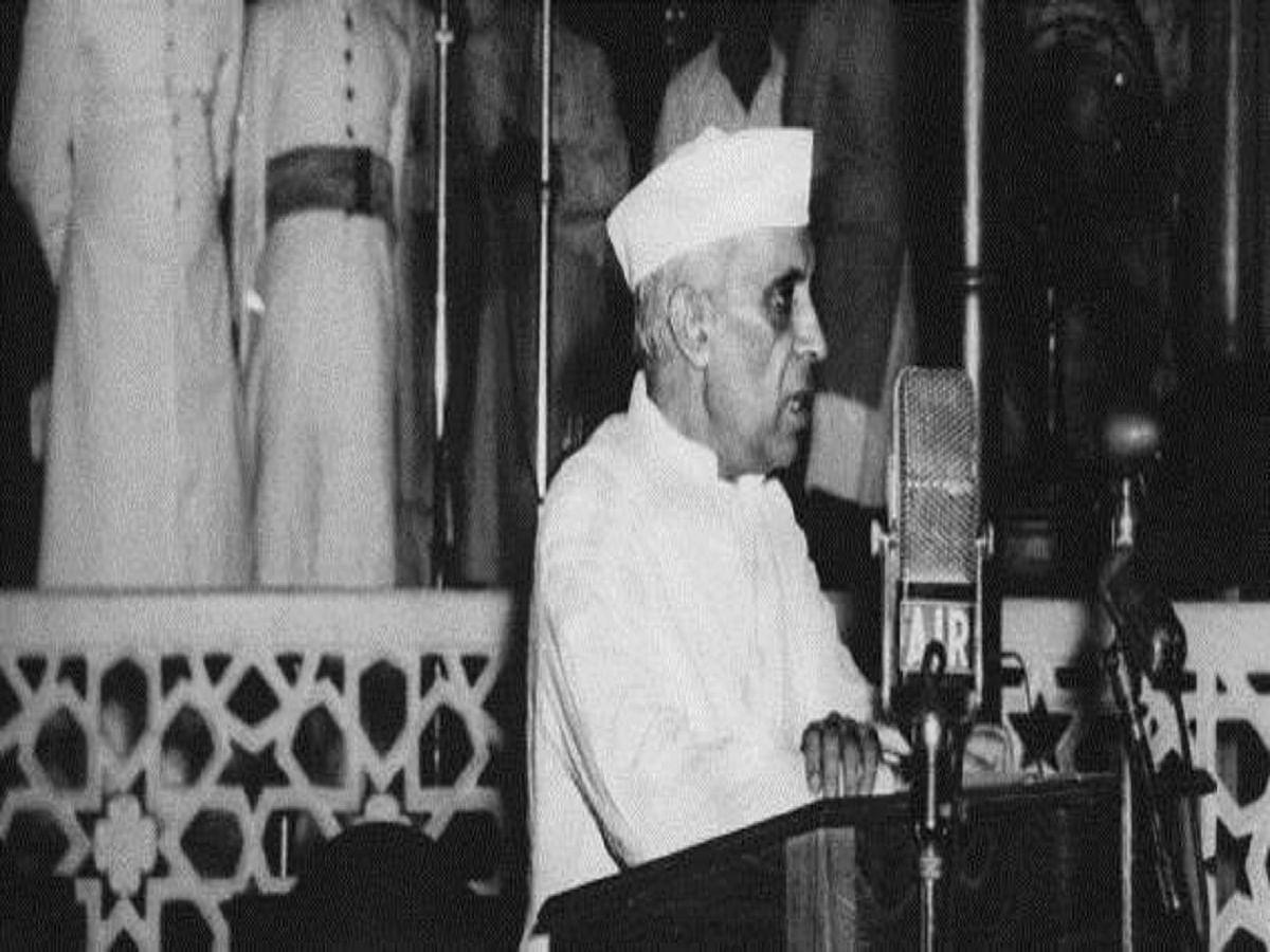 India's first Prime Minister Jawaharlal Nehru (Photo Courtesy: social media)