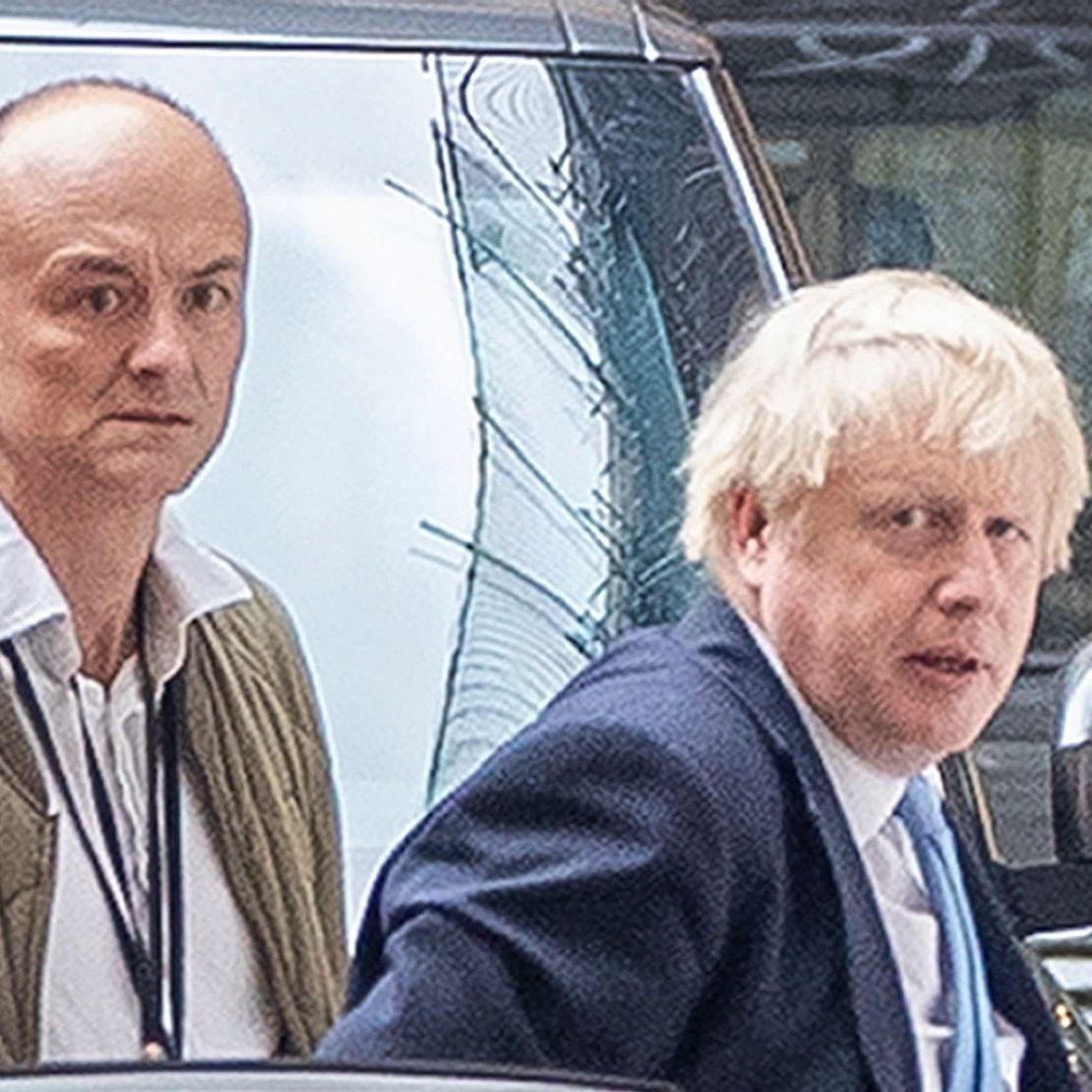 Dominic Cummings and Boris Johnson (Photo courtesy- social media)