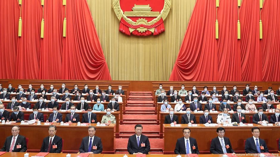 China's one-party system at risk