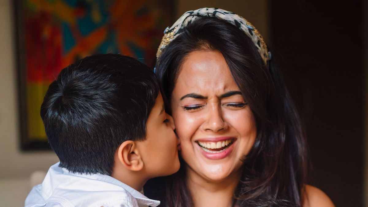 Sameera Reddy on coping with two young children during lockdown