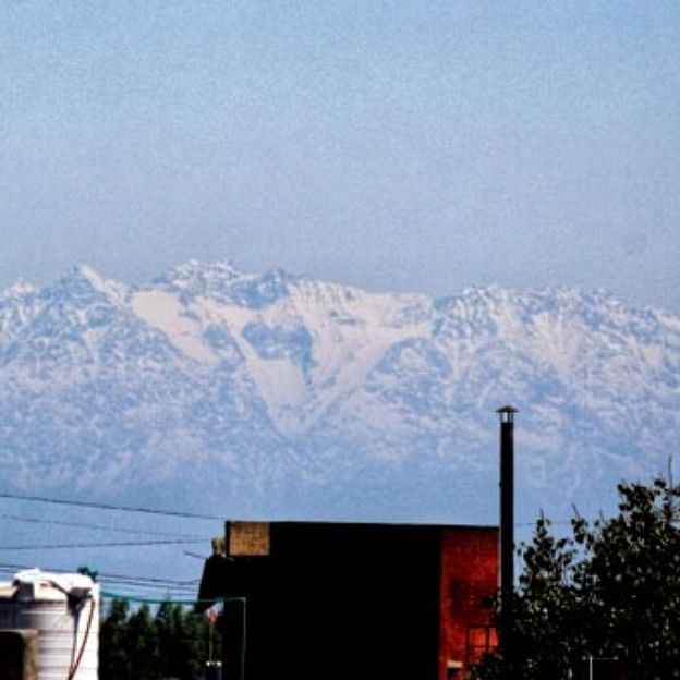 View of mountains from Jalandhar