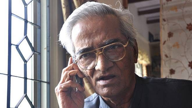 Celebrated Urdu writer, humorist Mujtaba Hussain (File Photo)