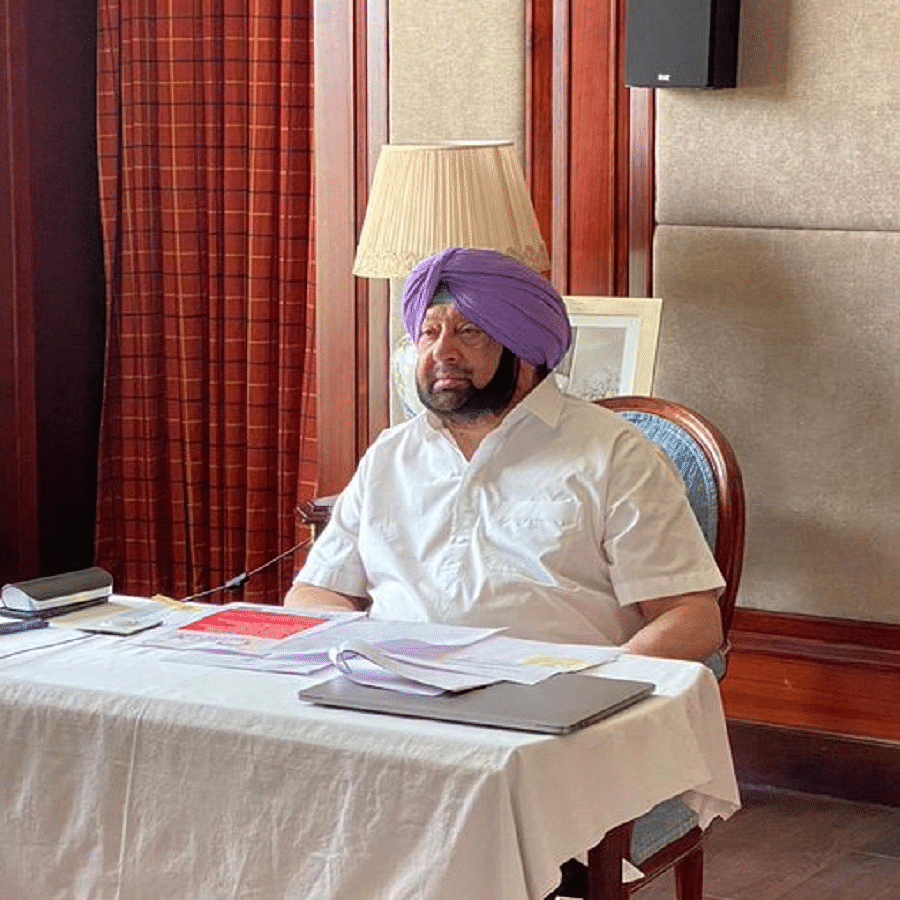 Punjab Chief Minister Capt. Amarinder Singh (Photo Courtesy: Twitter)