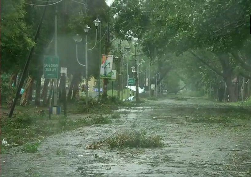 Photo from West Bengal near Sunderbans (Photo Courtesy: Twitter)