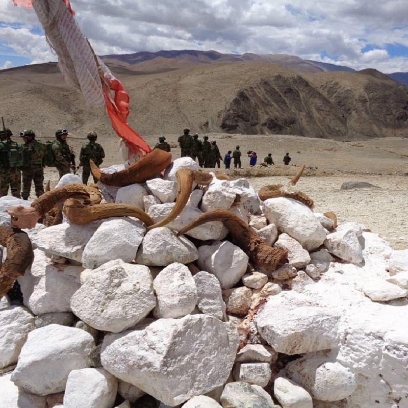 Eastern Ladakh. The Indian Army on a patrol (File Photo by Sujan Dutta)