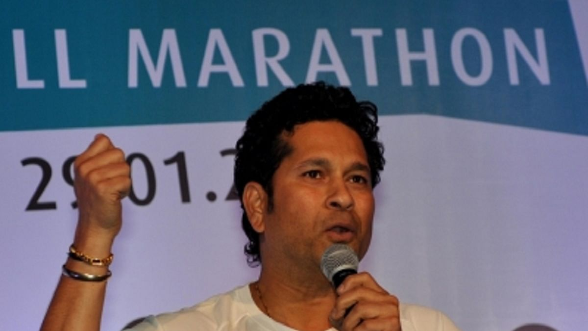 Sachin Tendulkar (Photo Courtesy: IANS)