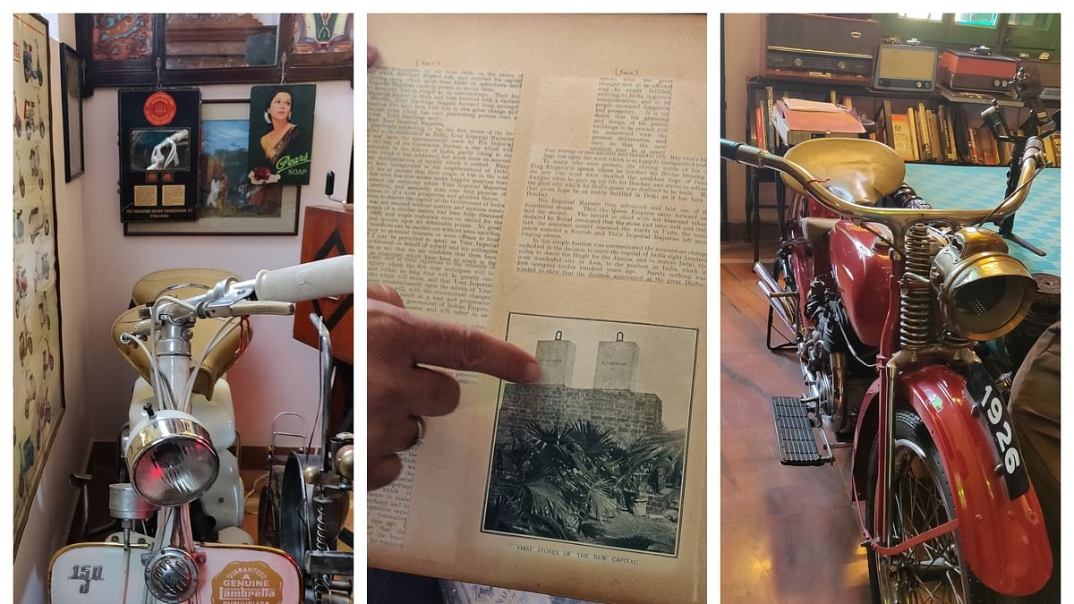 Past perfect: A collector in love with restoring beauties of yesteryear
