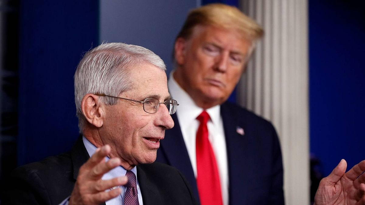 COVID: Fauci warns of 'really serious' consequences if US states rush to reopen