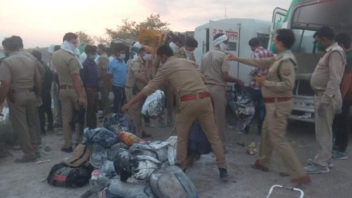 23 migrants killed, 20 injured after two trucks collide in Uttar Pradesh