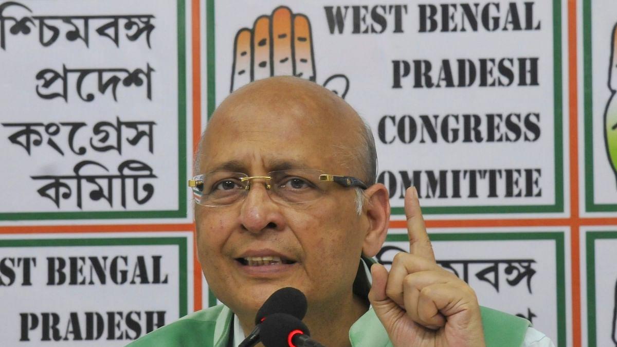 Abhishek Manu Singhvi (File photo)
