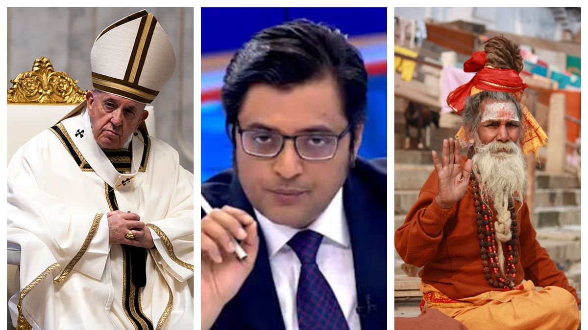 Reality Bites: The Swami and the Pope