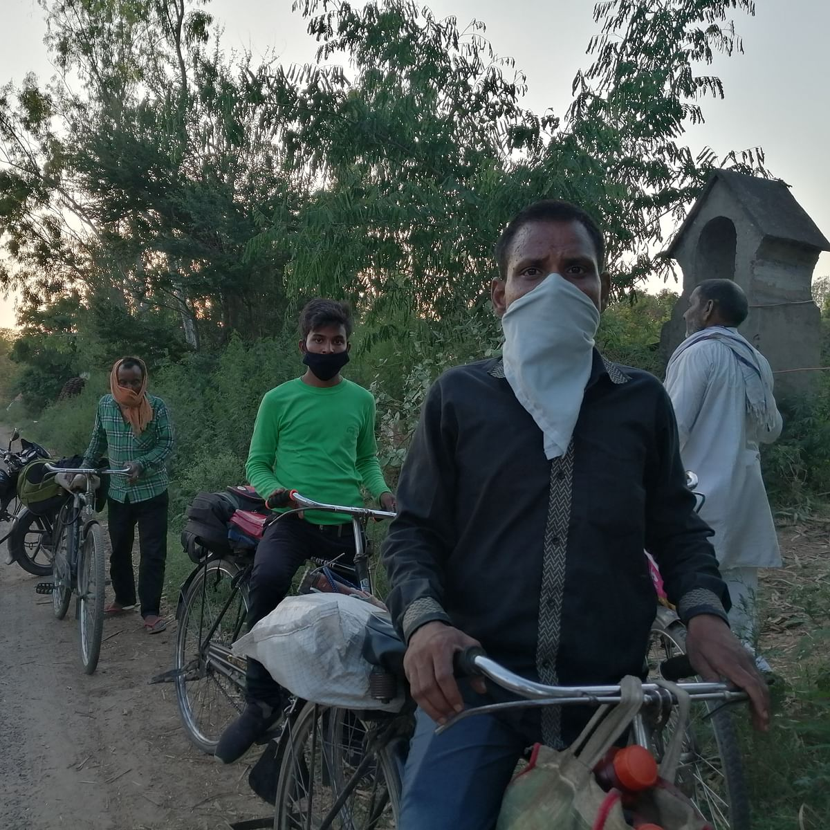 Police contest claim they sold off bicycles of workers for Rs 500 each