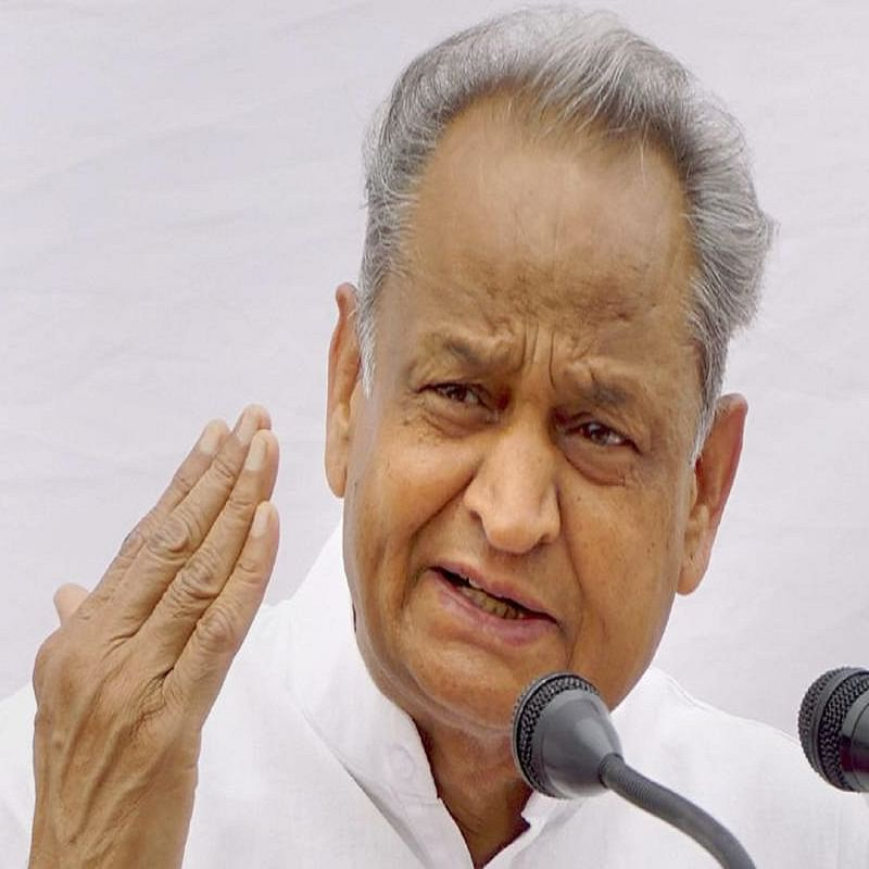 Rajasthan Chief Minister Ashok Gehlot (Photo Courtesy: Social Media)
