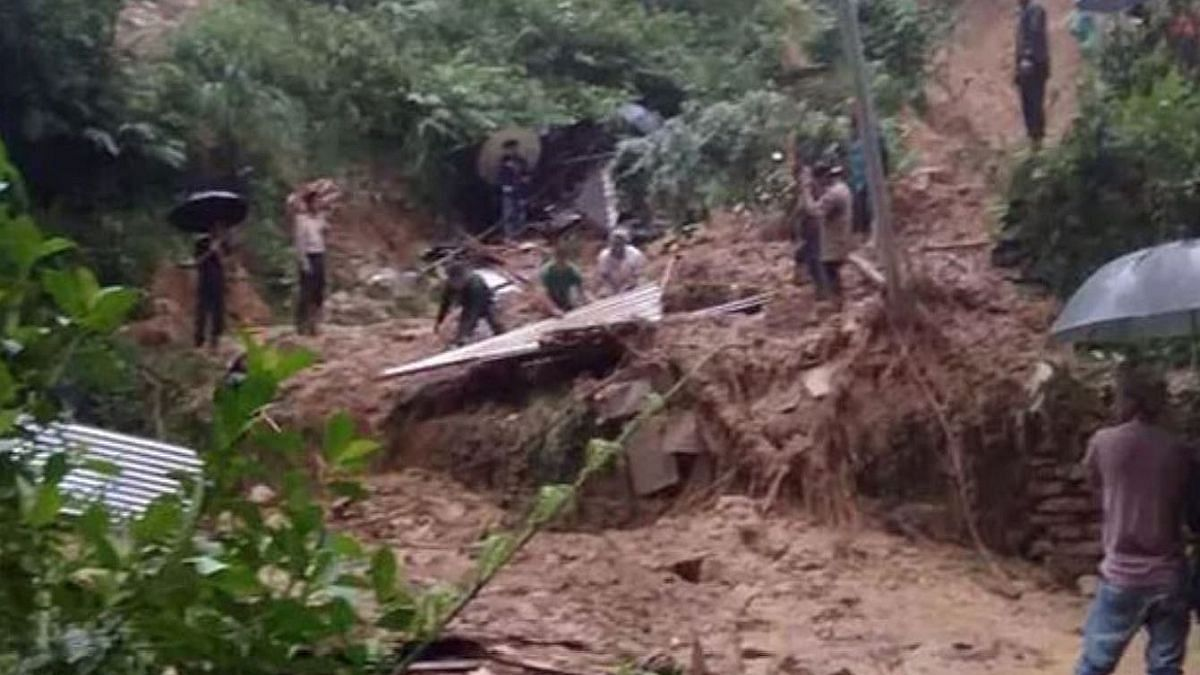 At least 20 dead in Assam landslides