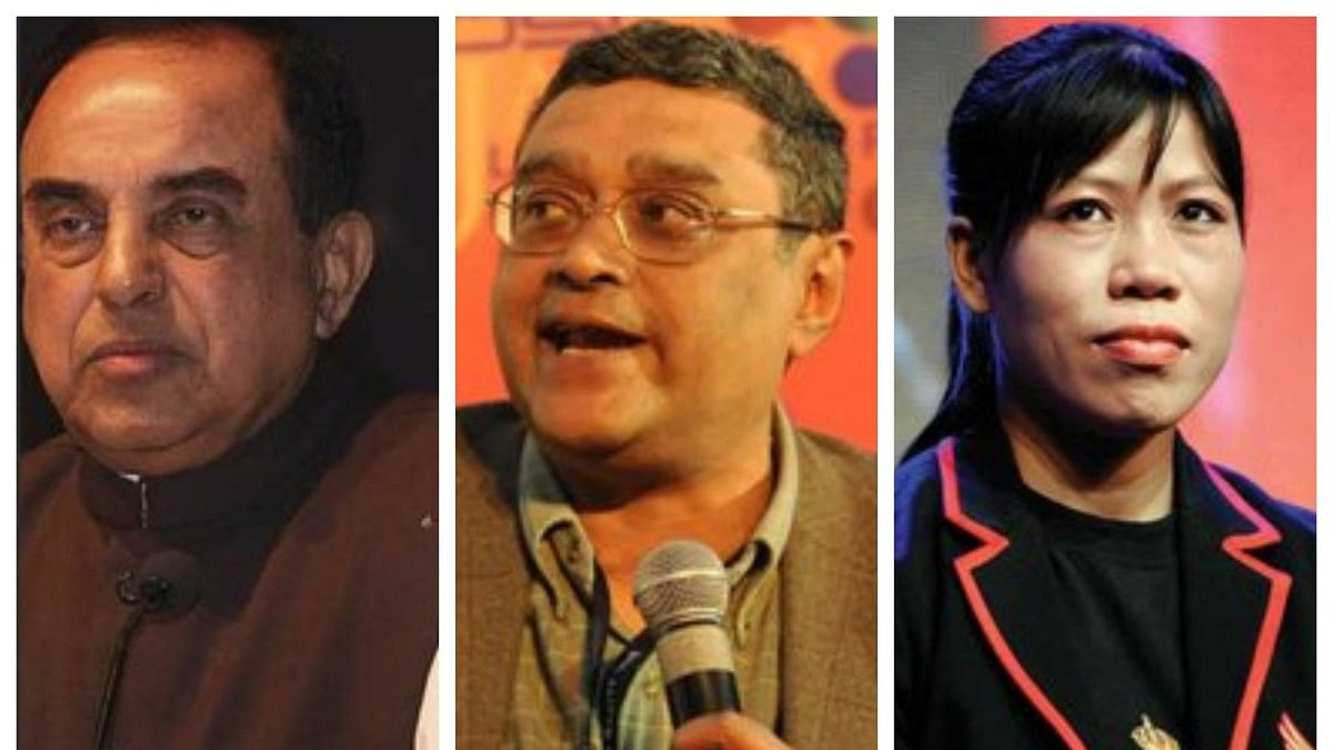 Rajya Sabha doesn't have  asset details of Swamy, Swapan Dasgupta, Mary Kom among 9 other BJP MPs