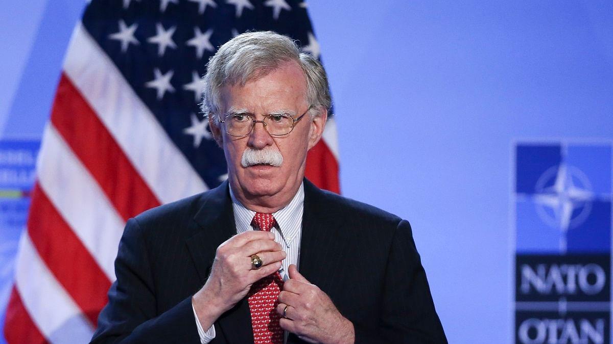 Former US National Security Adviser, John Bolton (Photo Courtesy: IANS)