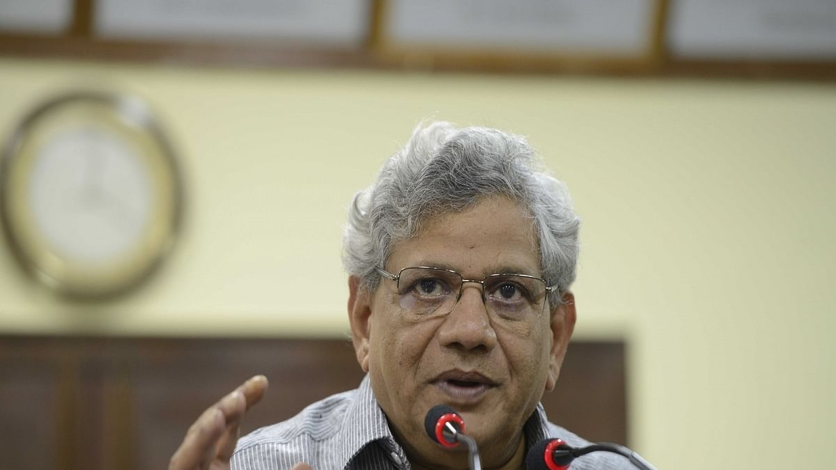 CPI-M general secretary Sitaram Yechury (Photo Courtesy: IANS)