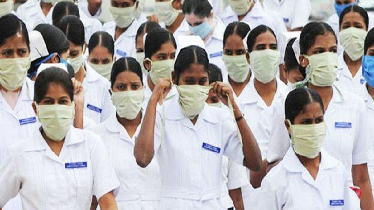 United Nurses Association seeks free tests, transport and 6-hour shifts, asks Kejriwal to intervene