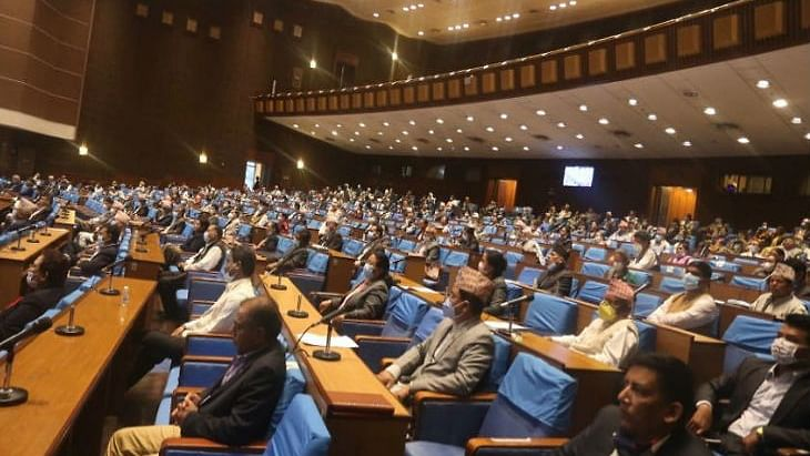 Nepal Parliament's lower house unanimously passes bill to redraw political map