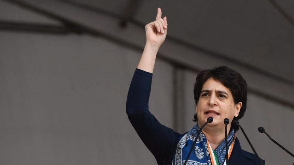'I am Indira Gandhi's granddaughter': Priyanka dares UP govt