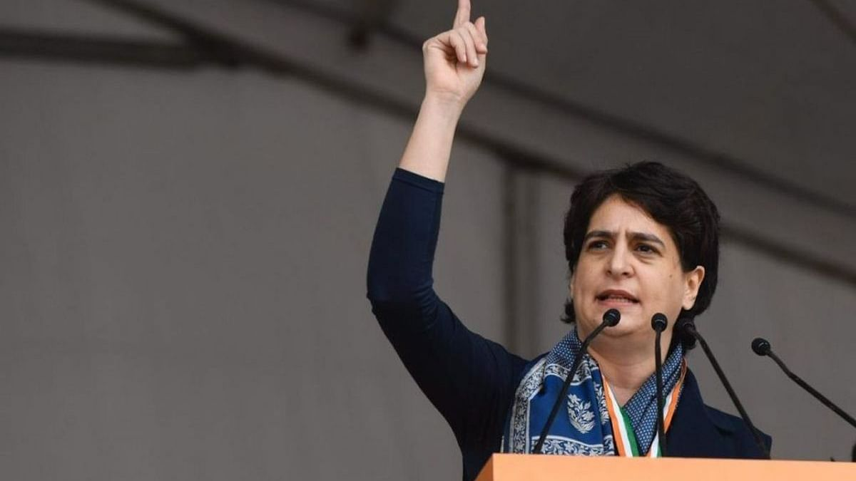 Culprit killed, what about those who gave patronage: Priyanka Gandhi