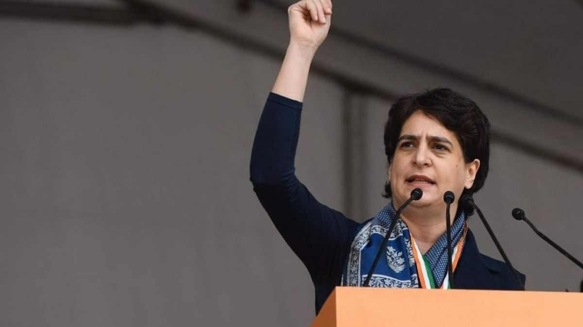 Priyanka Gandhi starts training programme in UP; Grassroots workers upbeat to face assembly poll in 2022