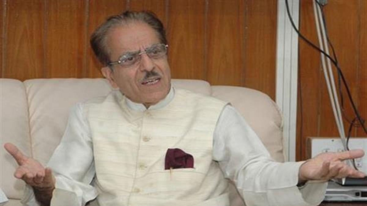 Saifuddin Soz condemns house arrest of PDP president Mehbooba Mufti