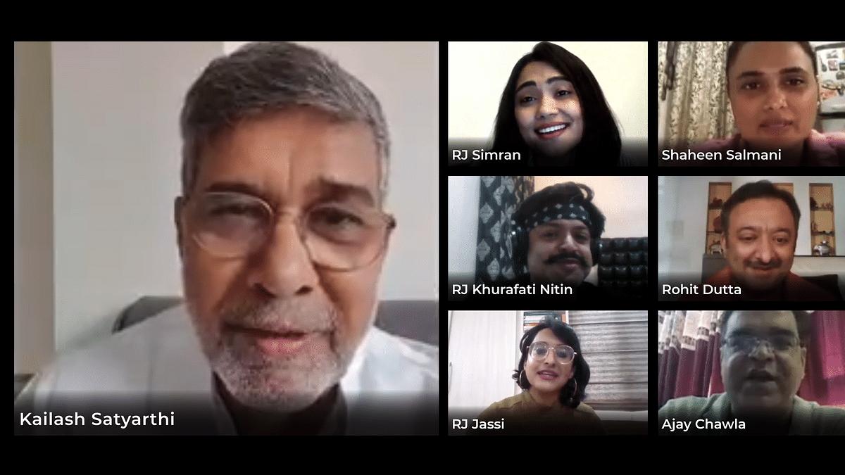 Nobel  Laureate Kailash Satyarthi lauds BIG FM's Initiative and relentless warriors of COVID-19