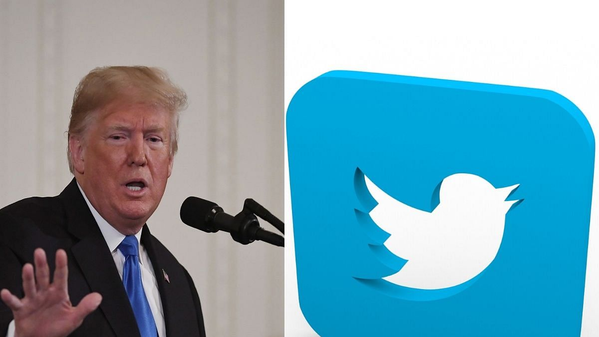 Twitter flags Trump tweet for violating its abusive behaviour policy
