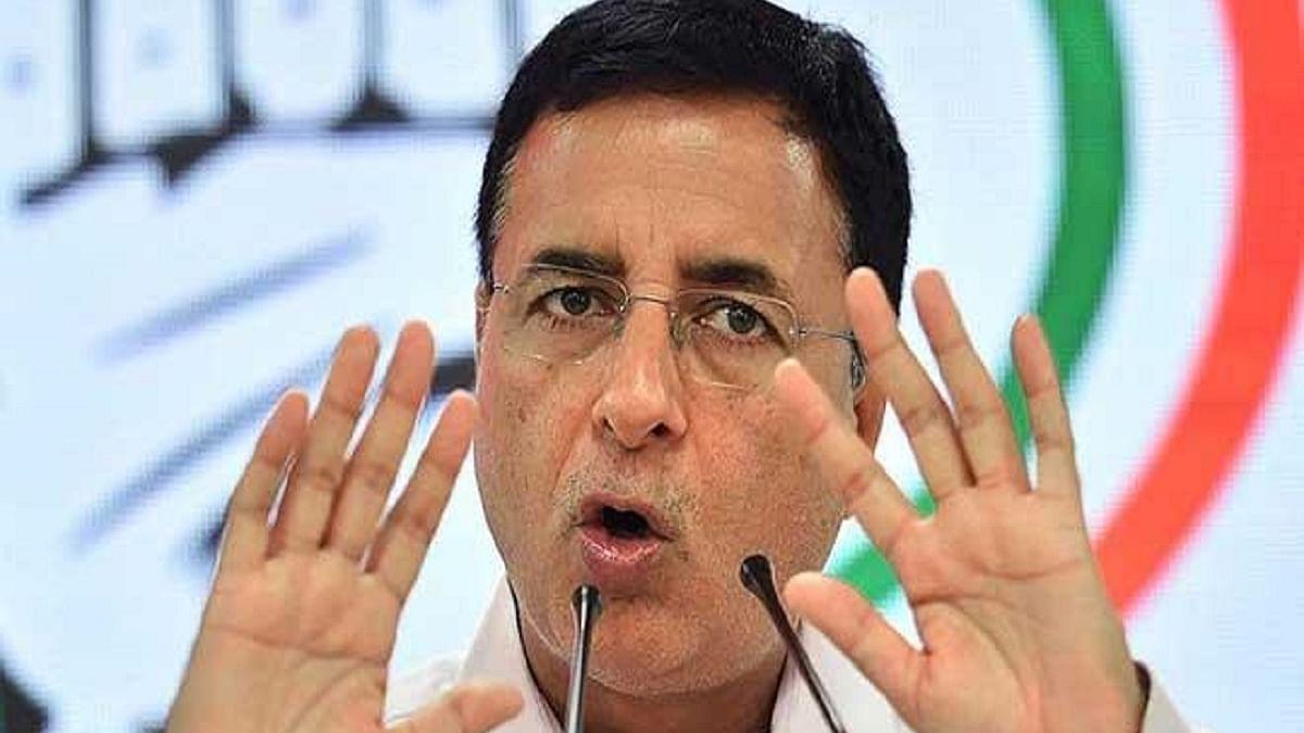 Congress leader Randeep Singh Surjewala(File photo)