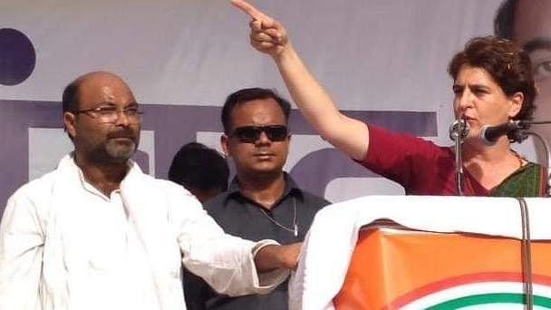Invoking Mahatma Gandhi, Priyanka Gandhi demands release of UP Congress chief Ajay Kumar Lallu