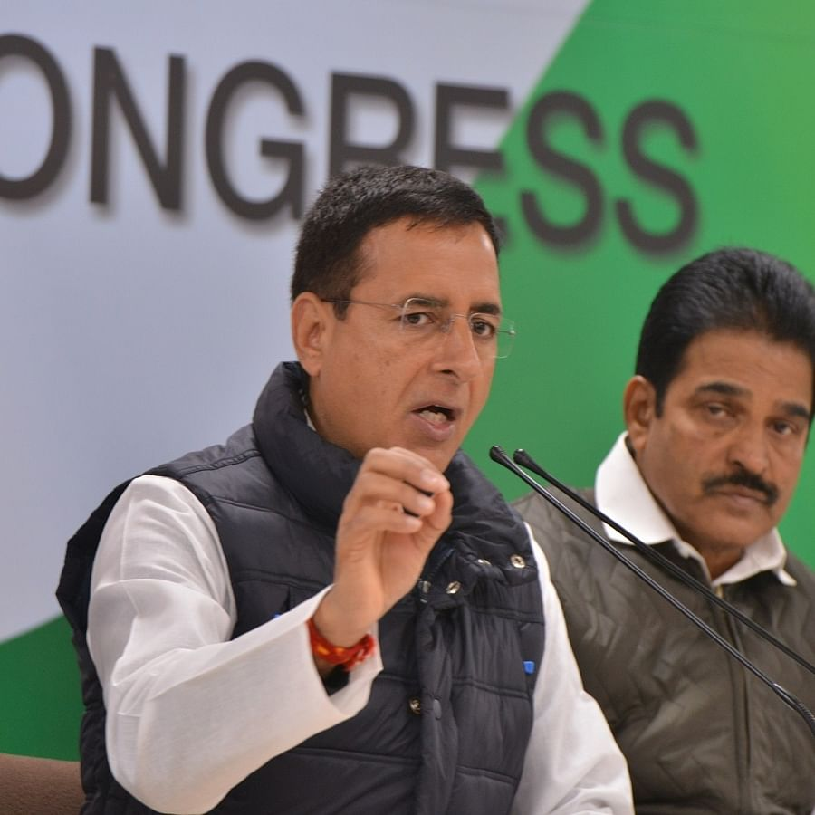 Randeep Surjewala (Photo Courtesy: IANS)
