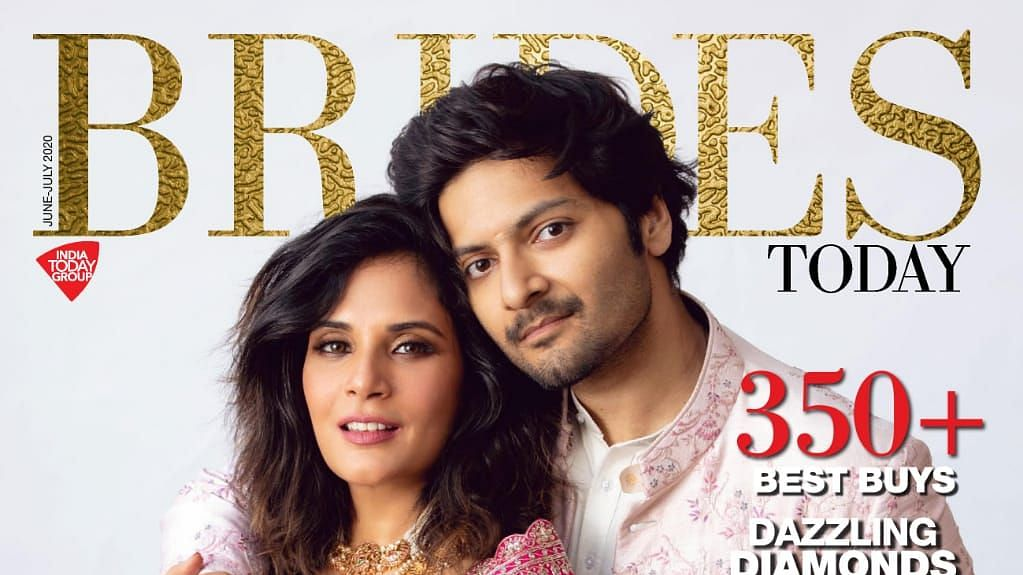 Richa Chadha, Ali Fazal pose together as couple in their first magazine cover setting relationship goals