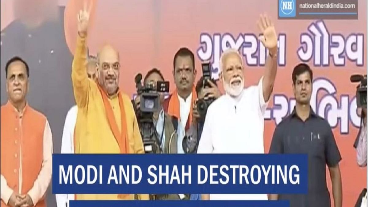 Modi and Shah destroying democracy: Congress