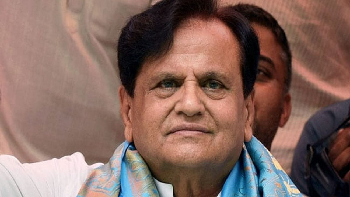 Congress leader Ahmed Patel