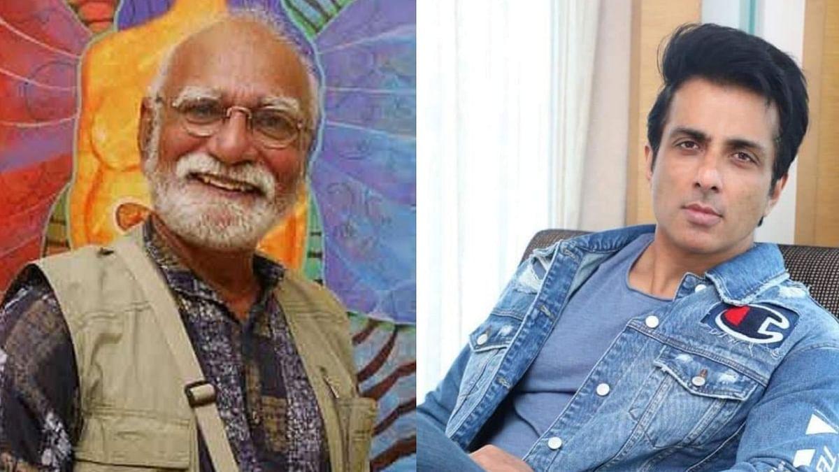 Sonu Sood helps veteran actor Surendra Rajan reach his hometown