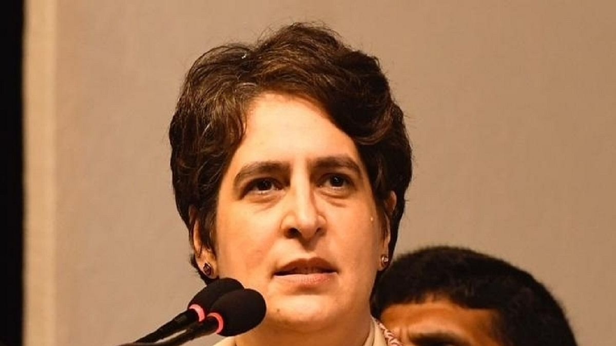 UP CM more interested in hiding his failures, says Priyanka Gandhi