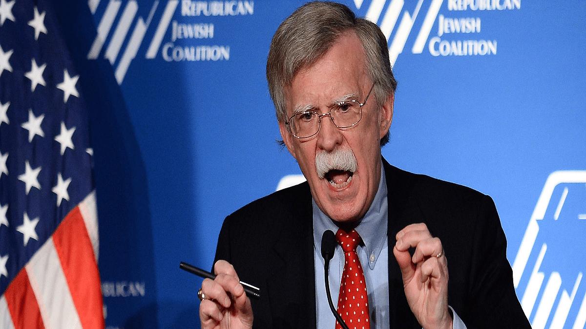 Ex-NSA Bolton hopes Trump is a one-term President