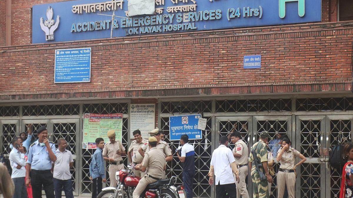 Delhi's Lok Nayak Hospital faces a shortage of 355 doctors, nurses