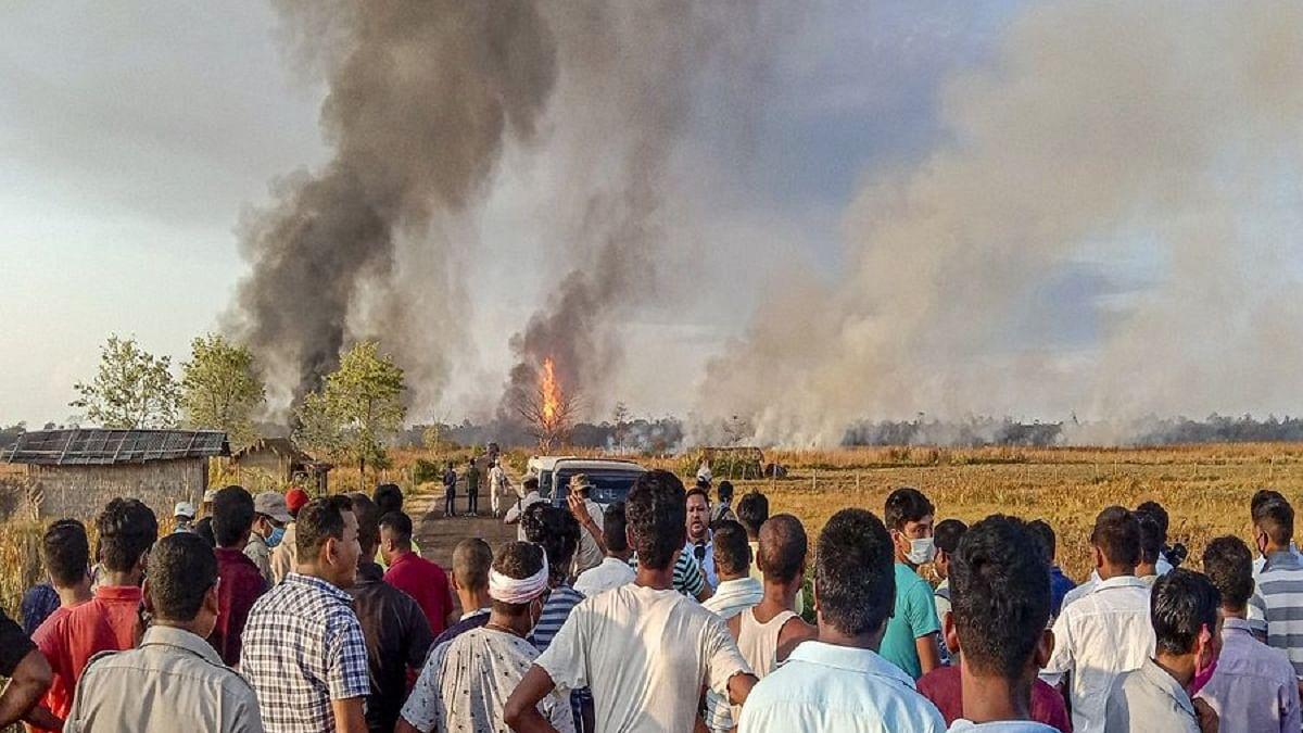 Two firefighters die in gas well blowout blaze in Assam