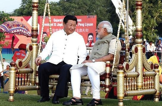 <b>Ahmedabad September, 2014</b>: Prime Minister Narendra Modi and Chinese President Xi Jinping in Ahmedabad