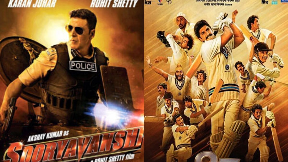 'Sooryavanshi' to release on Diwali, ''83' to bow out on Christmas