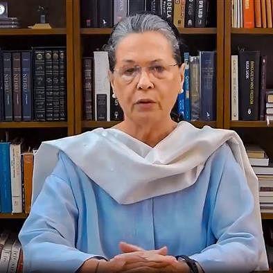 Congress president Sonia Gandhi (File photo: PTI)