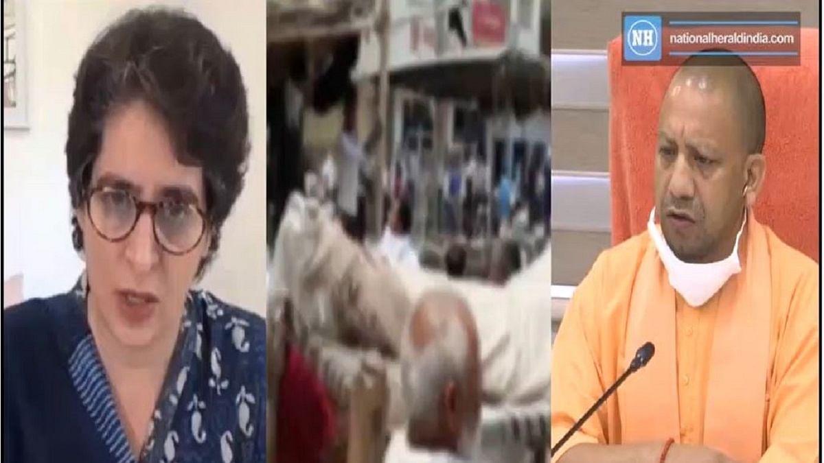 Priyanka slams Yogi over farmer's suicide