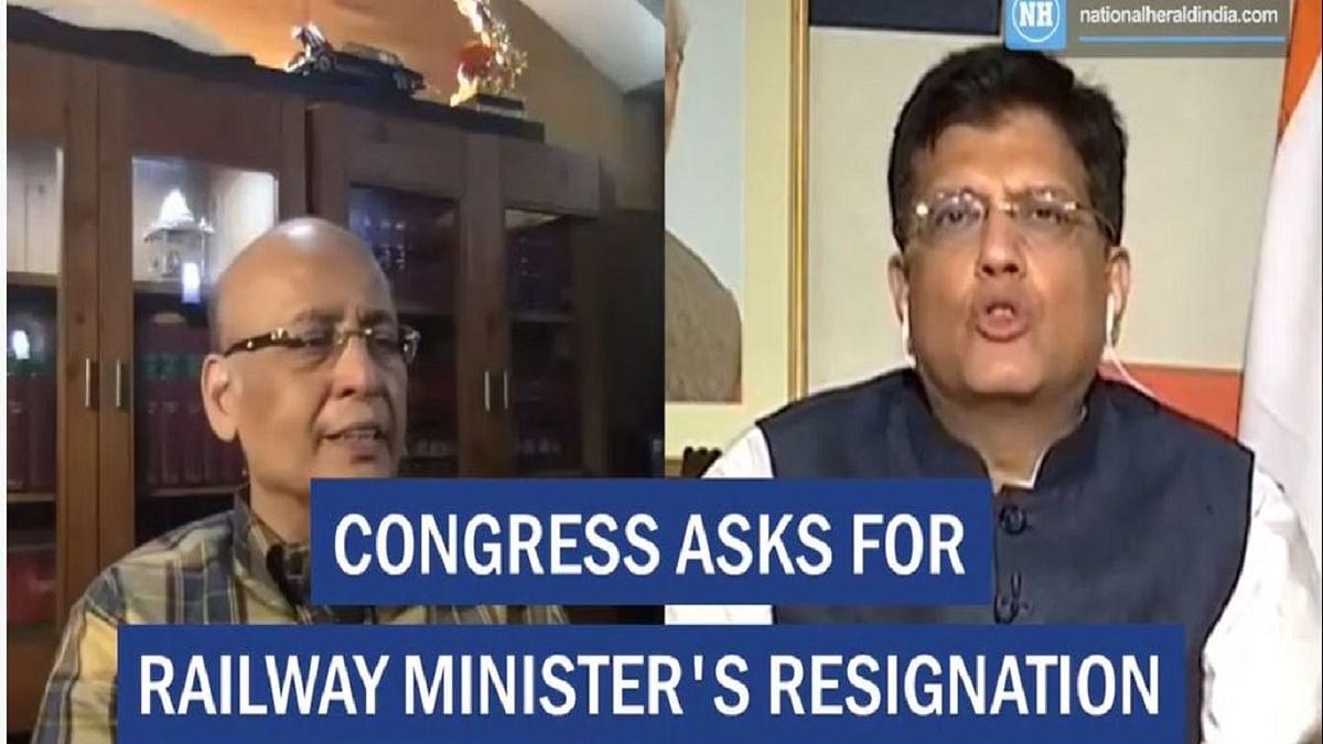 Congress demands Railway Minister's resignation