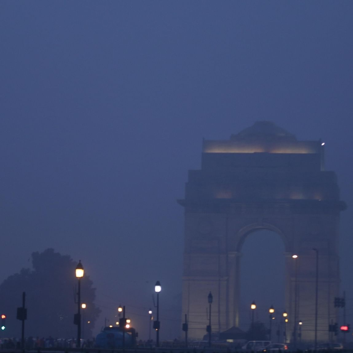 Sudden spike in air pollution in Delhi