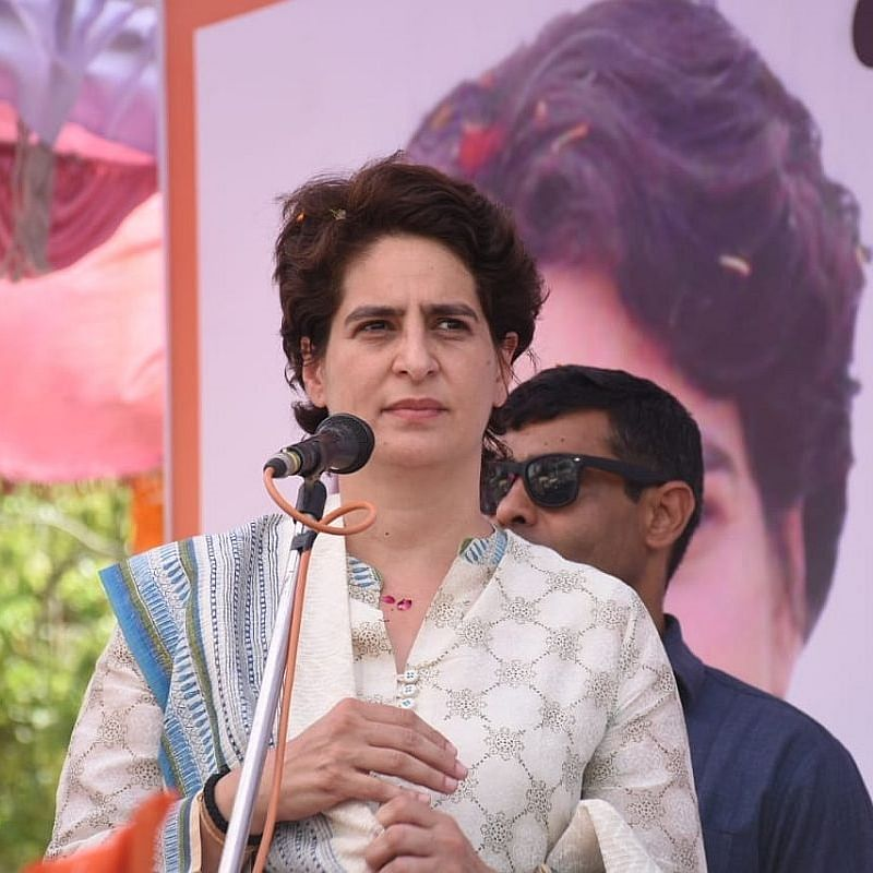 Congress general secretary Priyanka Gandhi  (Photo Courtesy: IANS)
