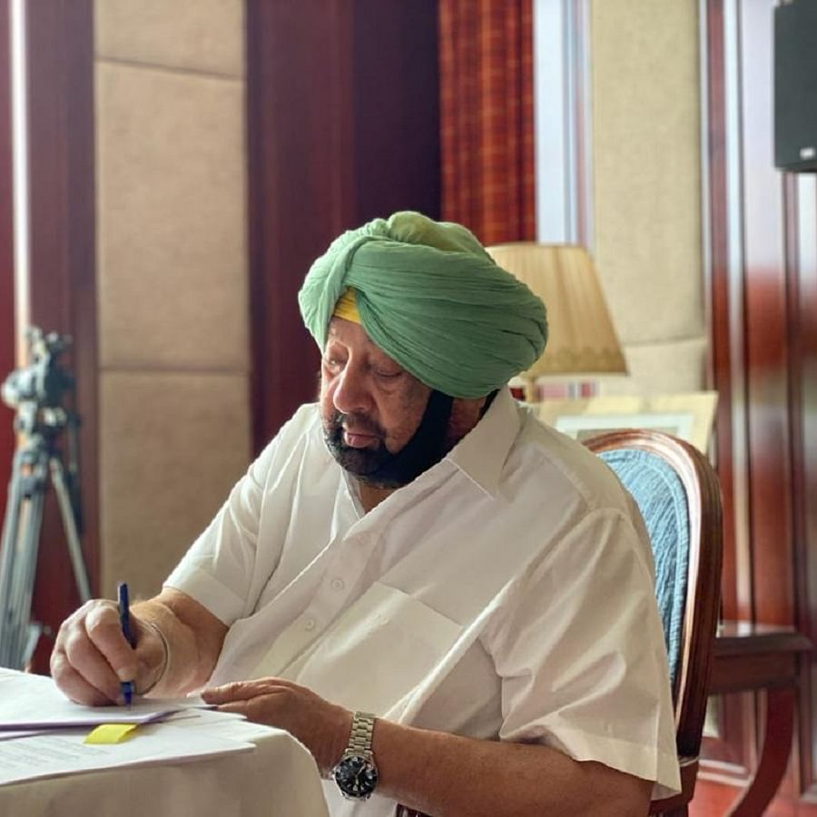 Punjab Chief Minister Capt Amarinder Singh (Photo Courtesy: IANS)