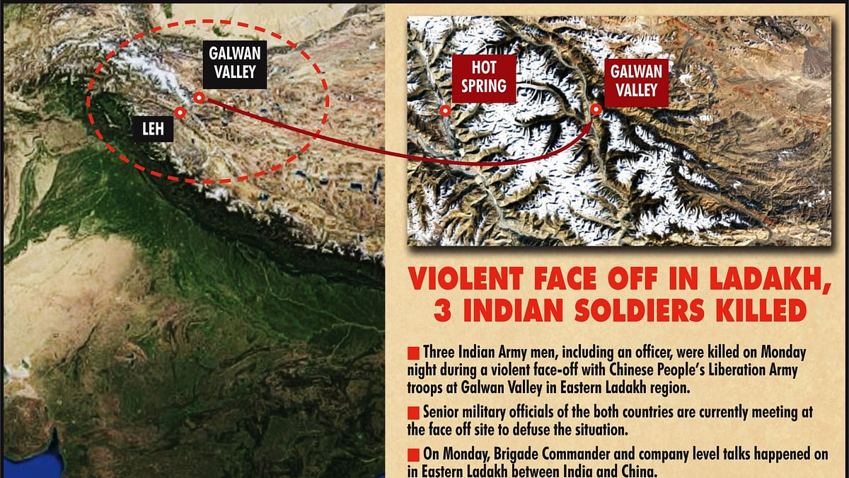 Shocking, says Congress on death of 3 Indian Army officer, 2 soldiers in face off with Chinese Army