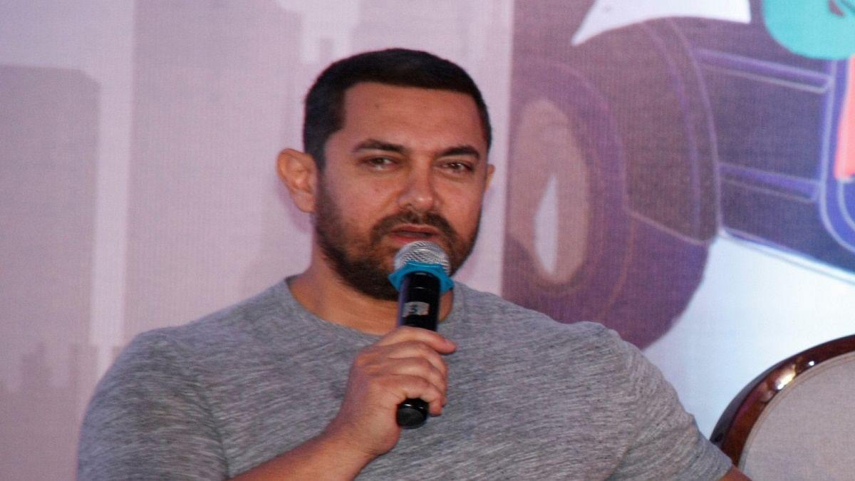 Actor Aamir Khan (Photo Courtesy: IANS)